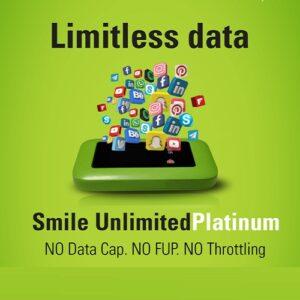 smile true unlimited data plan