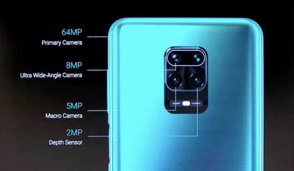 Redmi Note 9 Pro has a 64MP quad camera in Nigeria