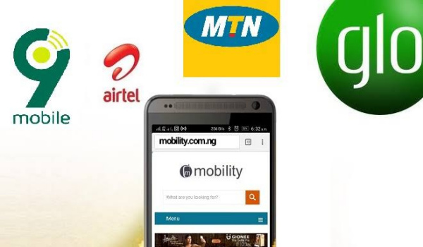 mobile data usage - Internet data in Nigeria