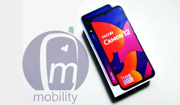 TECNO Camon 12 box - review phone