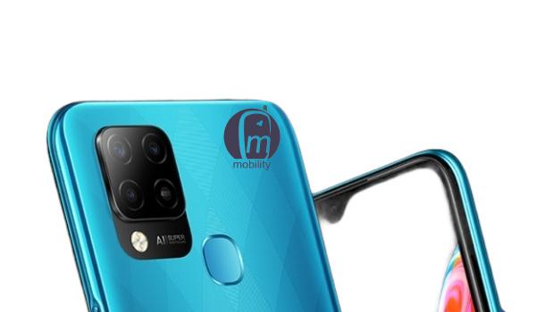Infinix HOT 10T waterdrop notch selfie camera