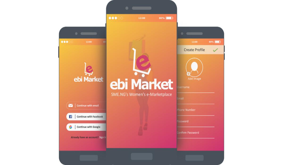 Ebi marketplace in Nigeria